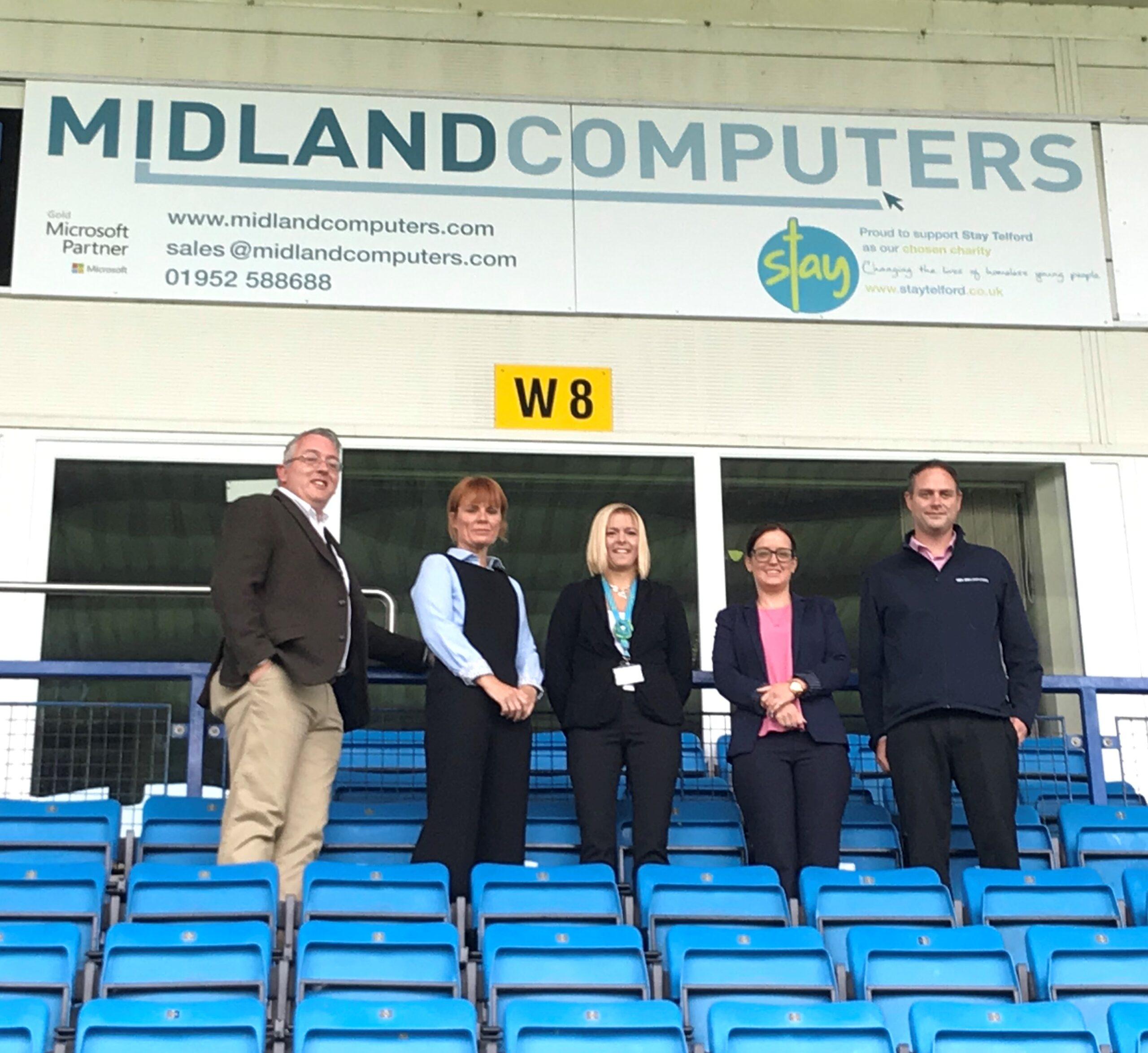 IT Company join AFC Telford