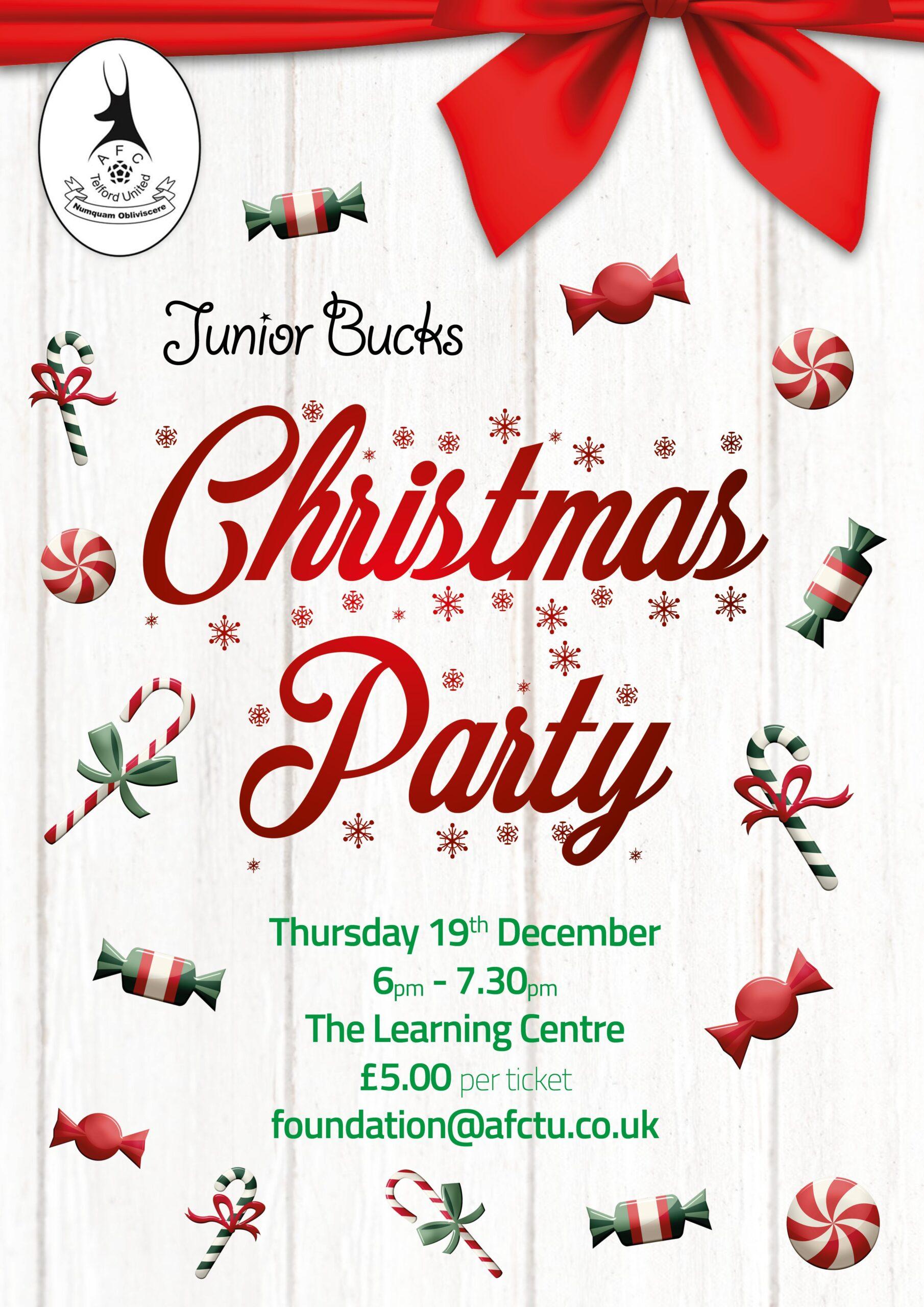 Junior Bucks Christmas Party