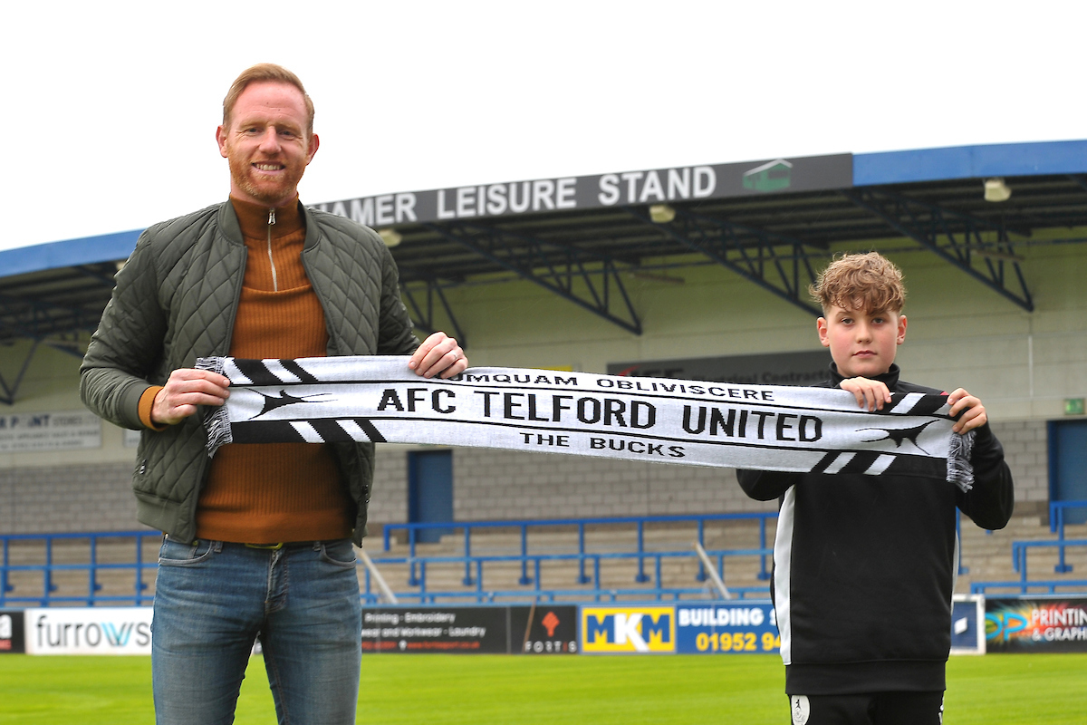 Youth Player: Sponsored run to raise money for AFC Telford United