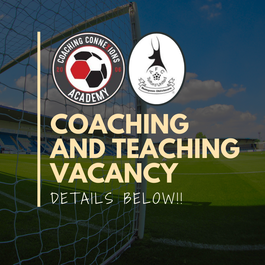 Vacancy: Full Time Assistant Football Coach