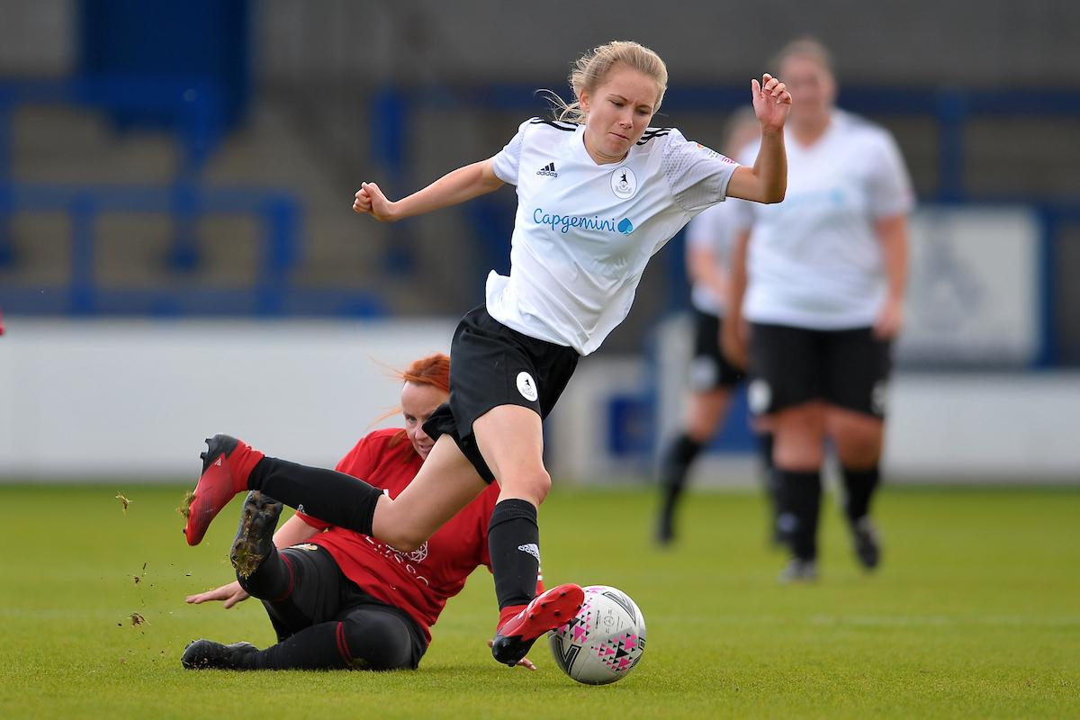 Ladies slip to first defeat