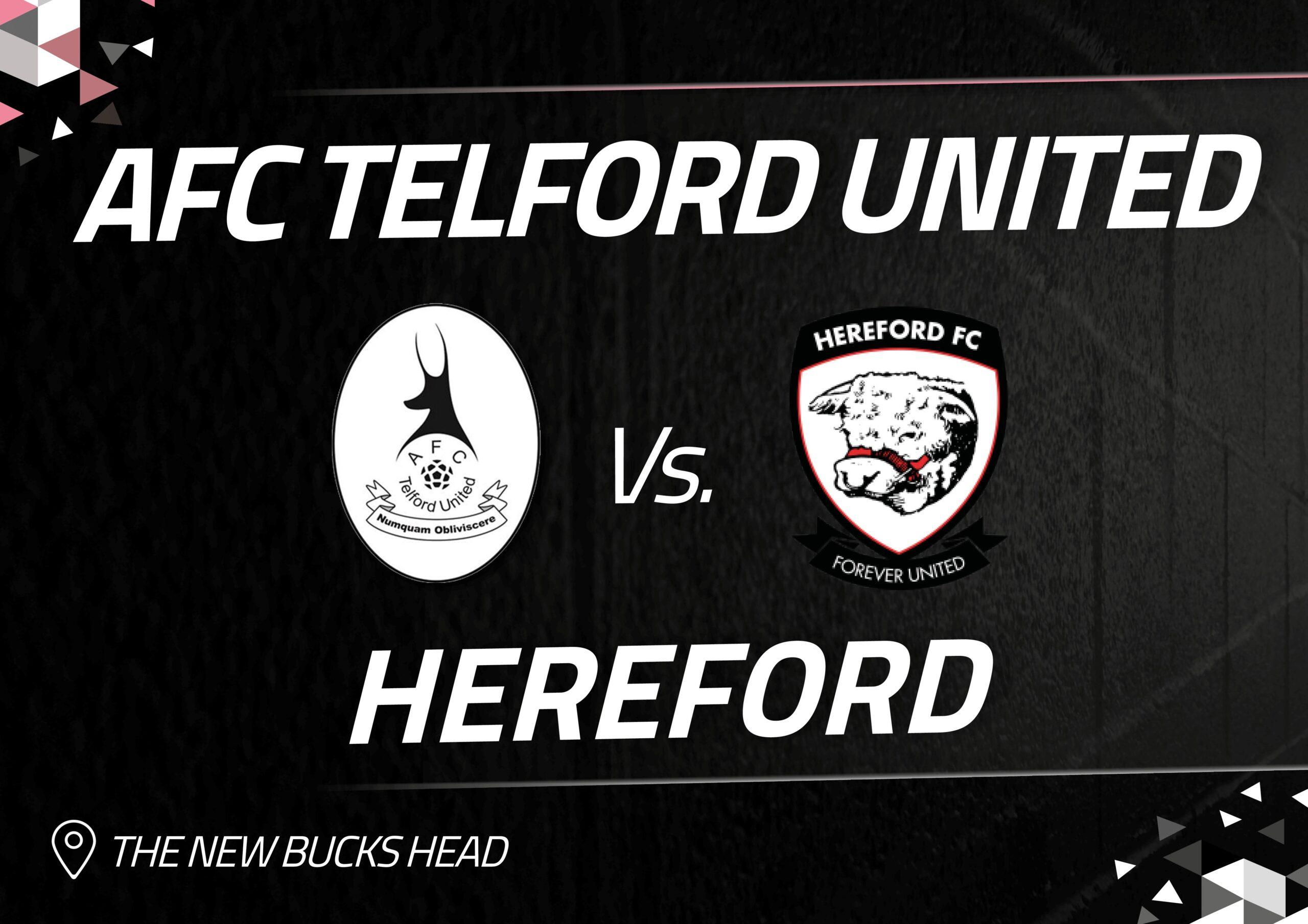 Hereford fixture postponed