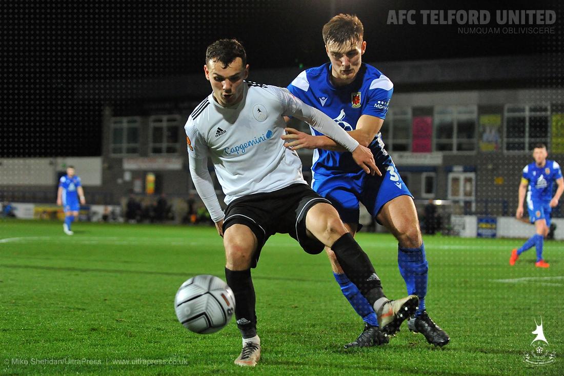 AFC Telford 0-1 Chorley
