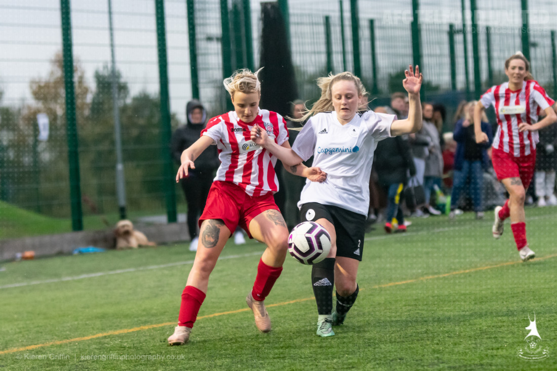 Back-to-back derby wins for in form ladies