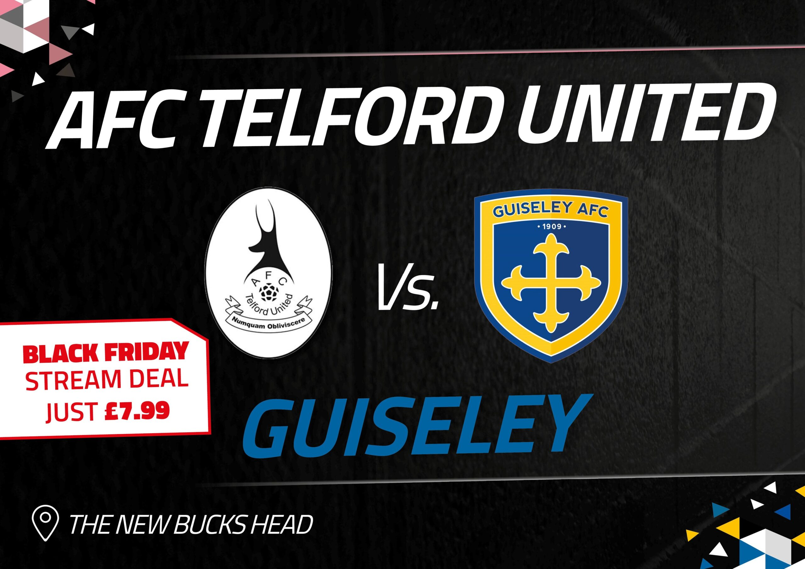 Guiseley: Live Stream Black Friday Deal