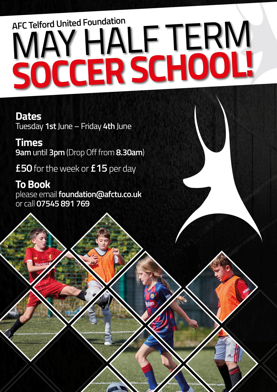 May Half Term Soccer School