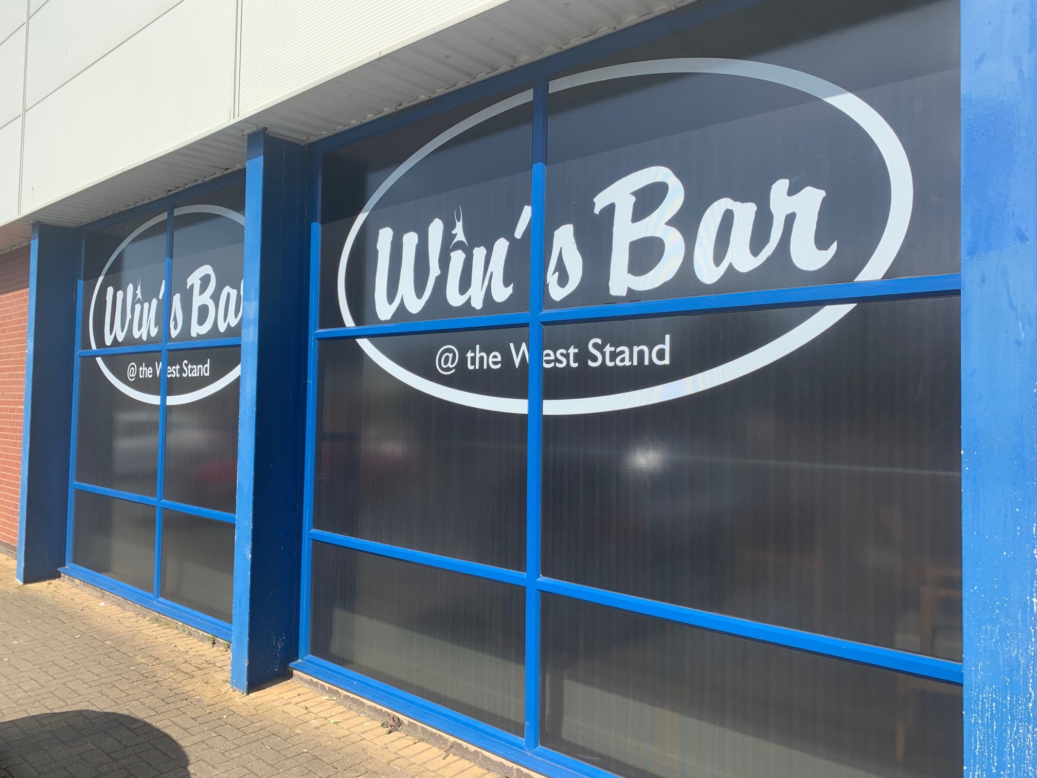 Dugout Bar is being renamed 'Win's Bar'